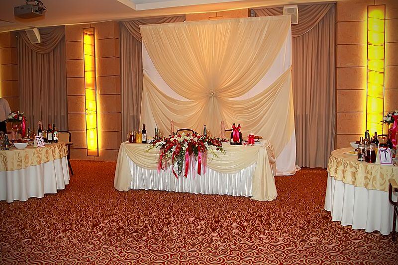 Интерьер залов для свадеб